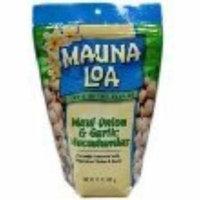 Mauna Loa Maui Onion & Garlic Macadamia Nuts, 10-Ounce Bag (Pack Of 3)