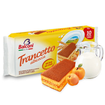 Trancetto Snack with Apricot Filling, 10pk 280g