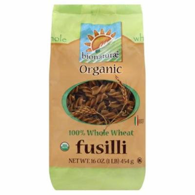 Bionaturae 100% Whole Wheat Fusilli, 16 Oz (Pack of 12)