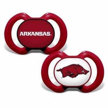 NCAA Arkansas 2-Pack Pacifiers