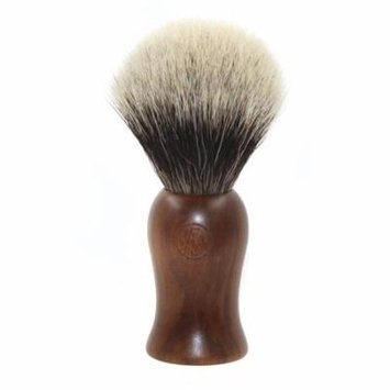 Ebony Wood Finest Badger Shaving Brush 22 Mm Comes with Free Stand