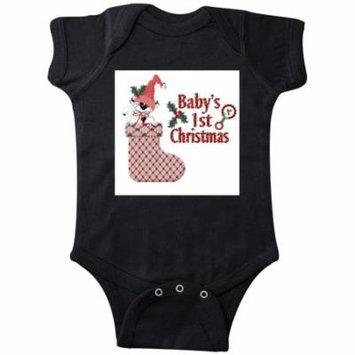 babys 1st kitty Infant Creeper