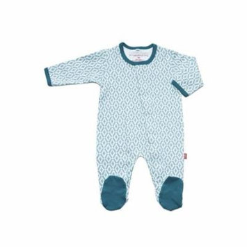 Magnificent Baby Boy's Footie (Marrakesh) - Newborn