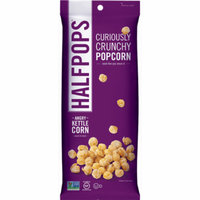 Halfpops Angry Kettle Corn, 1.4 oz, (Pack of 8)