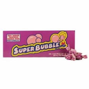 Super Bubble Bubble Gum, Grape, 300 pieces