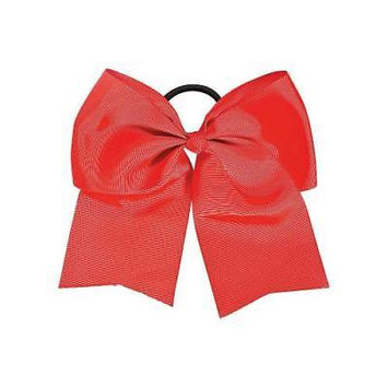 IN-13742002 Red Team Spirit Hair Bow