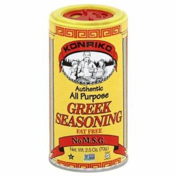 Konriko Greek All Purpose Seasoning, 2.5 Oz (Pack of 6)