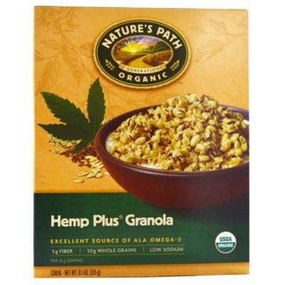 Nature's Path, Organic Hemp Plus Granola Cereal, 11.5 oz (pack of 1)
