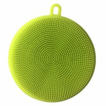 Outgeek Silicone Scrubber Food Grade Multi-Purpose Antibacterial Dishwashing Sponge Scrub Sponge