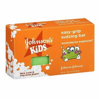 Johnsons Kids Easy-grip Sudzing Bar Watermelon Explosion, 2.46 oz, 2 Pack