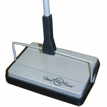 Dust Care DC 1001 Non Electric Commercial Grade Carpet Sweeper with Clean Out Comb On-Board, 3 Brush System