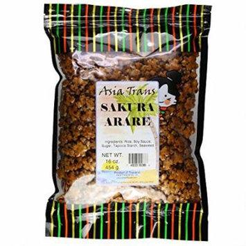 Sakura Arare Rice Crackers, 16 Ounce