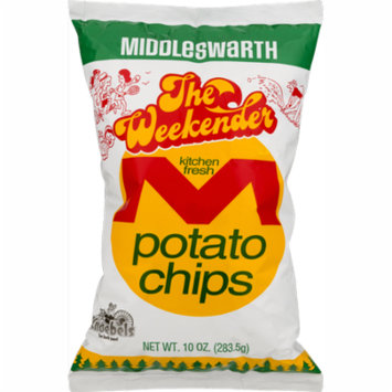 Middleswarth Kitchen Fresh Potato Chips The Weekender - 10 Oz. Bag (4 Bags)