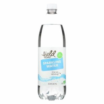 Field Day Plain Sparkling Water - Sparkling Water - Case of 12 - 33.8 FL oz.