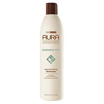 aura rejuvenating shampoo, rosemary mint, 13.5 ounce