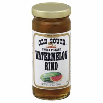 Old South Sweet Pickled Watermelon Rind, 10 Oz (Pack of 6)