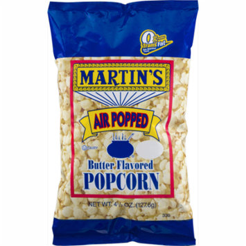Martin's Air Popped Butter Flavored Popcorn - 4.5 Oz. Bag (8 Bags)