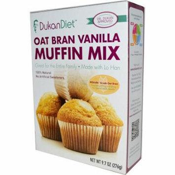 Dukan Diet, Oat Bran Vanilla Muffin Mix, 9.7 oz(pack of 6)