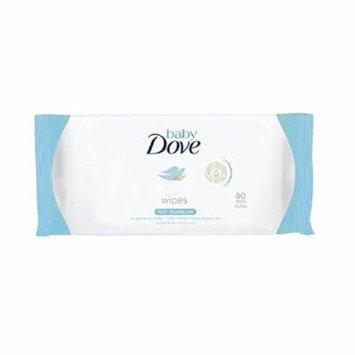 Dove Baby Wipes, Rich Moisture, As Gentle As Water, Suitable for Newborns, 50 Ct