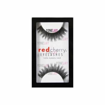 False Eyelashes #30 (Pack of 6), 100 percent human hair By Red Cherry