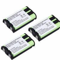 3x Phone Battery For Panasonic KX-TG5453 KX-TG5456 KX-TG5471 KX-TG5480 KX-TG5561