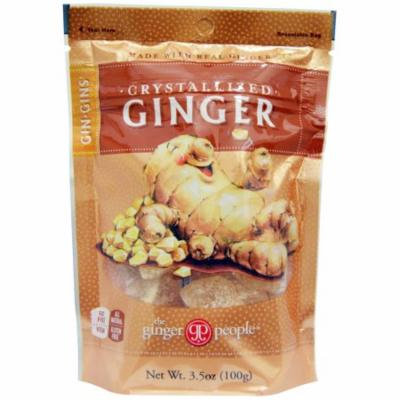 The Ginger People, Gin·Gins, Crystallized Ginger, 3.5 oz (pack of 6)