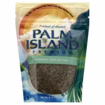 Palm Island Bamboo Jade Sea Salt, 4 Oz (Pack of 6)