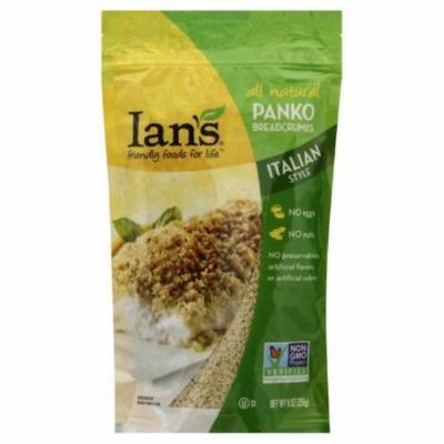 Ians Italian Style Panko Breadcrumbs, 9 Oz (Pack of 12)