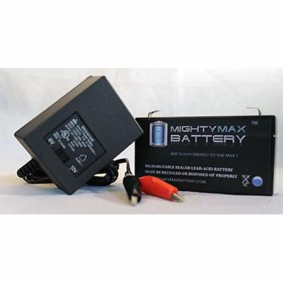 ML1.3-6 6V 1.3Ah Replaces CAS Medical 901 BP Monitor Battery+6V Charger