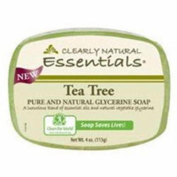 Clearly Natural Soap Bar Glyc Tea Tree