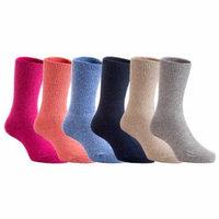 Lian Style 4 Pairs Children Wool Socks Size 3Y-6Y Boy Random Color
