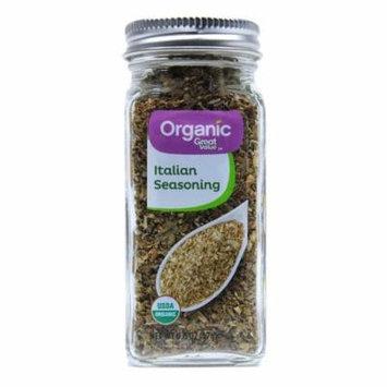 Great Value Organic Italian Seasoning, 0.6 oz