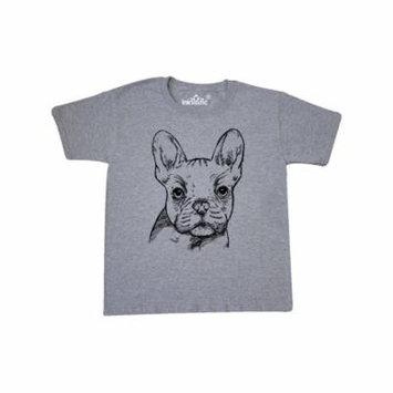 French Bulldog Portrait Youth T-Shirt