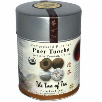 The Tao of Tea, Organic Puer Tuocha, Compressed Puer Tea, 4.0 oz (pack of 2)
