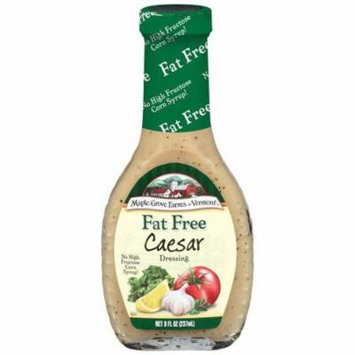 Maple Grove Farms Fat Free Caesar Dressing 8 Oz (Pack of 6)