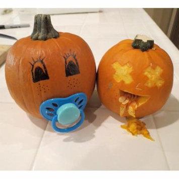 LAMINATED POSTER Jack O Lantern Halloween Pumpkin Pacifiers Baby Poster Print 24 x 36