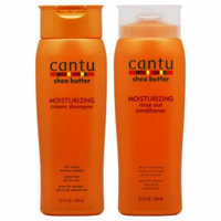 Cantu Shea Butter Moisturizing Shampoo + Conditioner 13.5oz