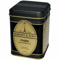 Harney & Sons, Black Tea, Paris Flavored, 4 oz(pack of 2)