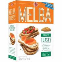 Old London Melba Toast Sesame 5 Oz (Pack of 12)