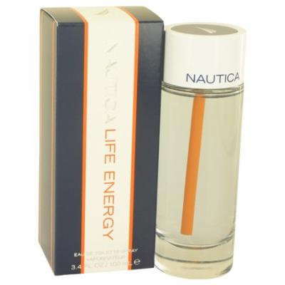 Nautica Life Energy by Nautica - Men - Eau De Toilette Spray 3.4 oz