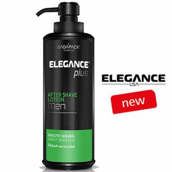 Elegance Plus After Shave Lotion for Men 500ml 17.6oz - Green