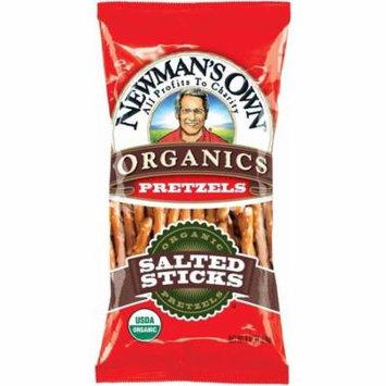 Newmans Own Organics Salted Pretzel Sticks, 8 Oz (Pack of 12)