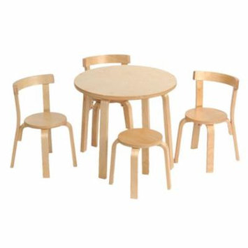Svan Play With Me Toddler Table + Chairs Set (Natural)