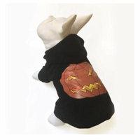 2018 Jeerui Pet Dog Clothes Pumpkin Pattern Hooded Coat Dress Sweater WFrm Winter Black Christmas gift