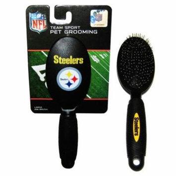 Pittsburgh Steelers Dog Grooming Brush