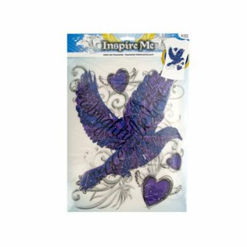 Iron-On Religious Dove Transfer, Pack of 30