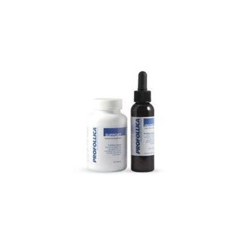 Profollica Hair Recovery System Pills and Gel, Slow, Stop, and Reverse Hair Loss