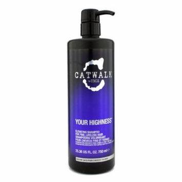 Tigi - Catwalk Your Highness Elevating Shampoo - For Fine, Lifeless Hair (New Packaging) -750ml/25.36oz