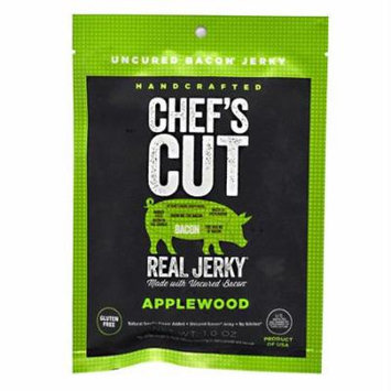 Chef's Cut Real Jerky, Real Bacon Jerky Applewood 1 oz