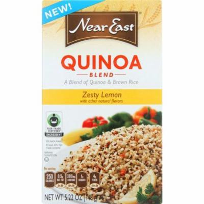Near East Quinoa Blend, Zesty Lemon, 5.22 Oz (Pack Of 12)